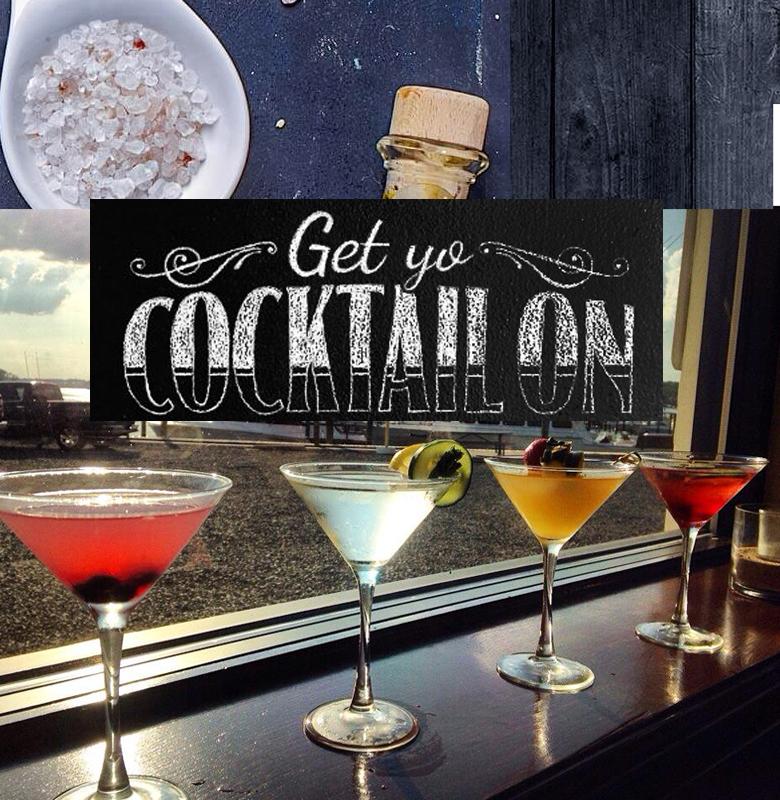 clarks landing cocktails menu