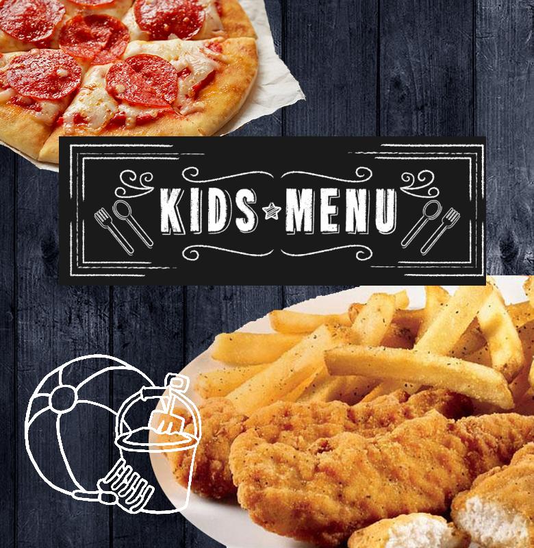 clarks landing kids menu