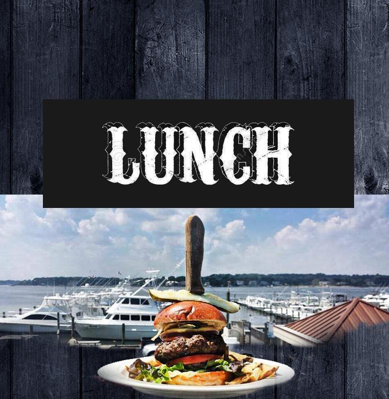 lunch menu clarks landing dockside bar grill